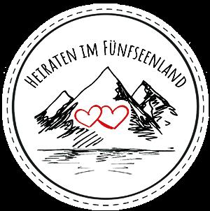 Heiraten im Fünfseenland mit 4 weddings & events, Hochzeitsplaner in Bayern und Tirol