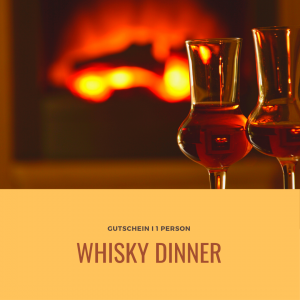 Gutschein Whisky Dinner