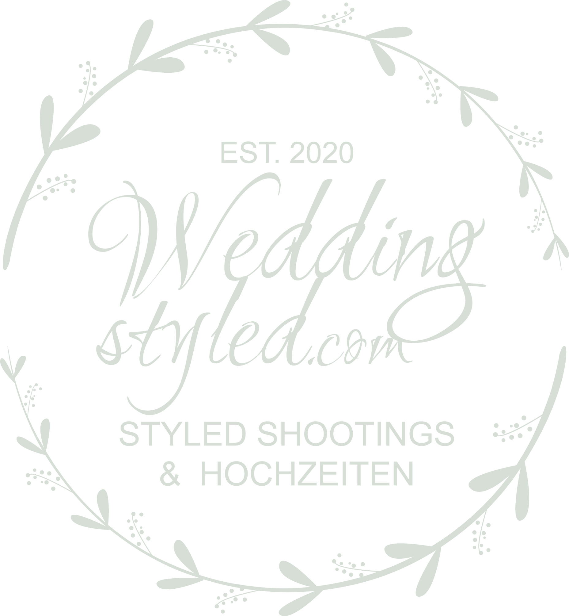 Weddingstyled.com Logo Partner 4 weddings & events Styled Shooting