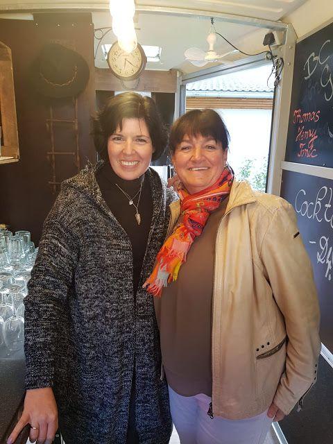 Uschi Glas Kerstin Schumann Inhaberinnen 4Eck Restaurant Garmisch