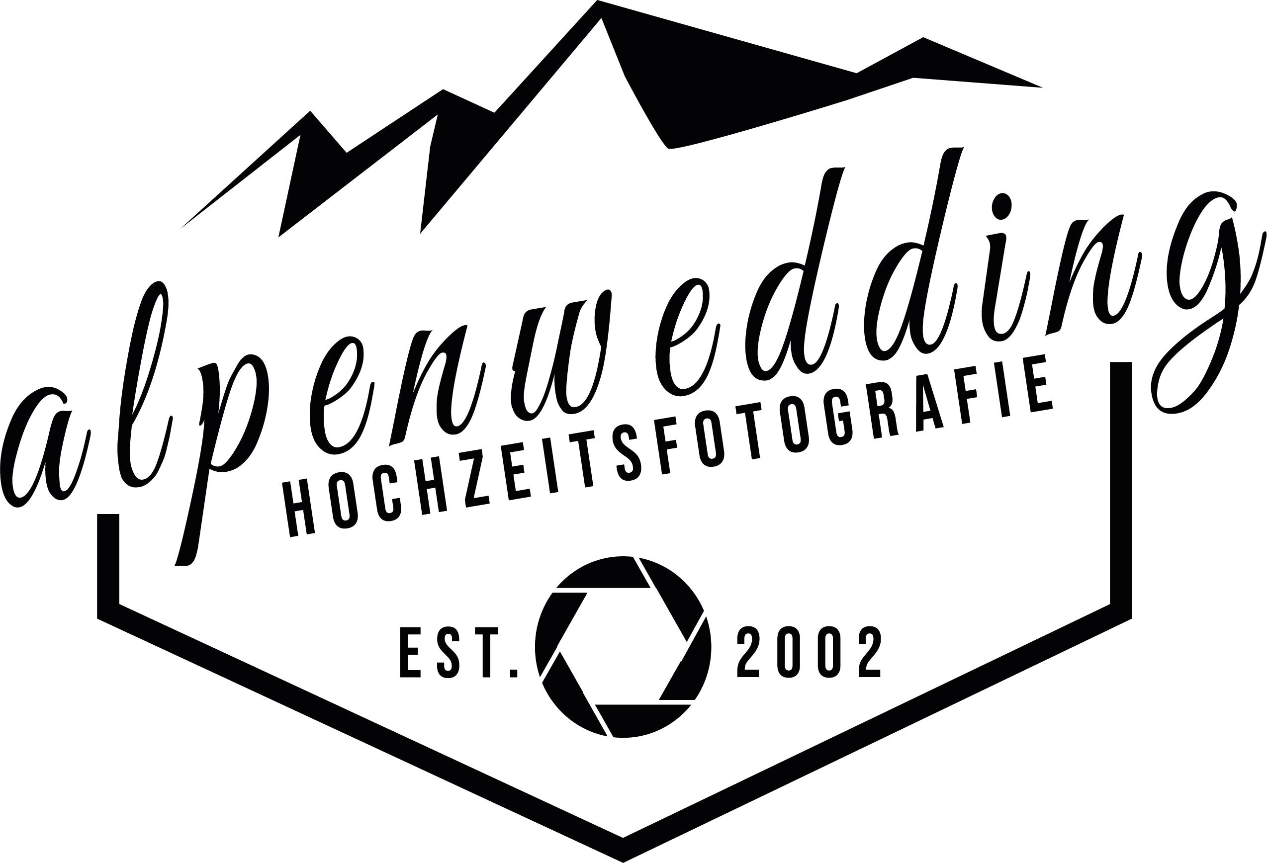 Alpenwedding Logo Partner von 4 weddings & events Hochzeitsplanung